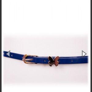 Butterfly Belt In Blue